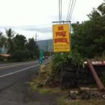 Mauka Shop sign
